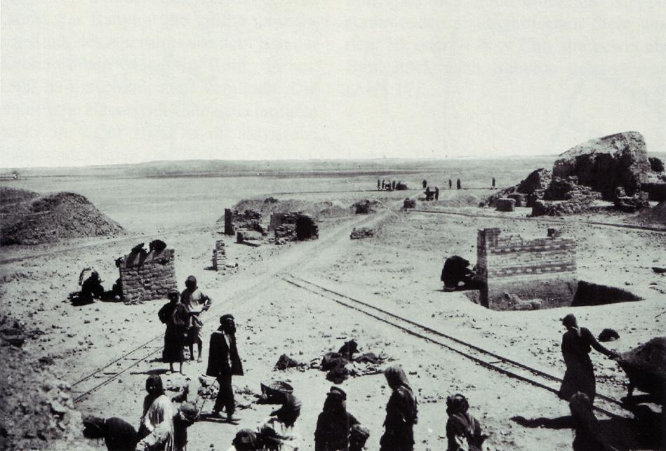Grabungen im Bereich des Ischtar-Tores, 1902